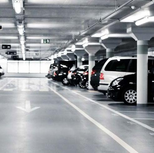 Двухуровневый подземный паркинг